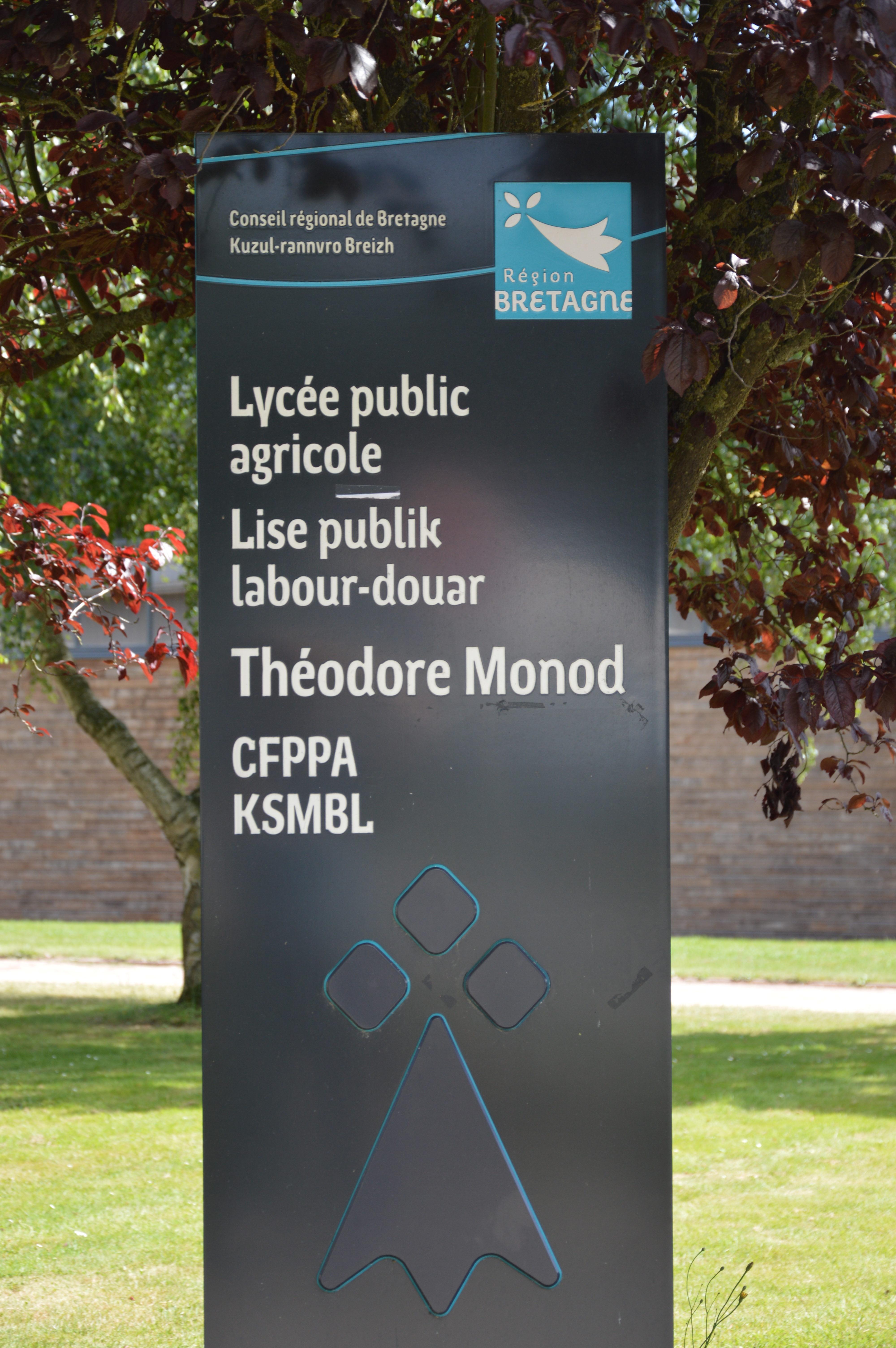 CFPPA Lycée public agricole Théodore Monod